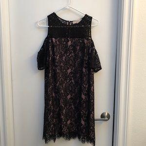 Loft Cold Shoulder Dress